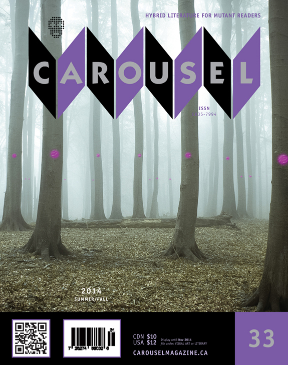 Sneak peek at CAROUSEL 33 cover