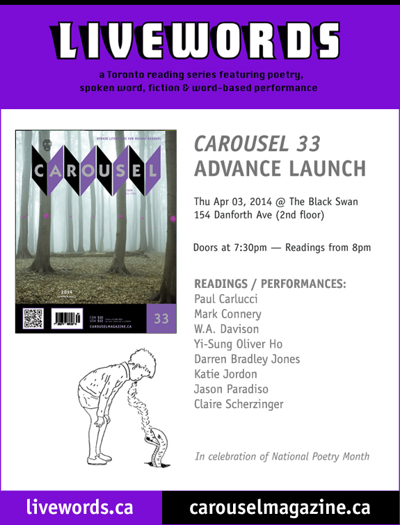 CAROUSEL 33 Release Party Apr 03!