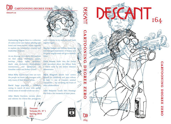 DESCANT 164 focuses exclusively on comics culture
