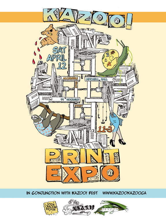 2014 KAZOO Print Expo (Guelph, ON)