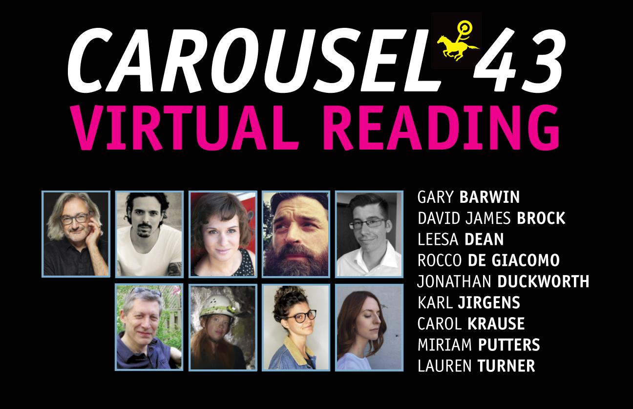 CAROUSEL 43 Virtual Reading (Sep 22, 7-9pm)