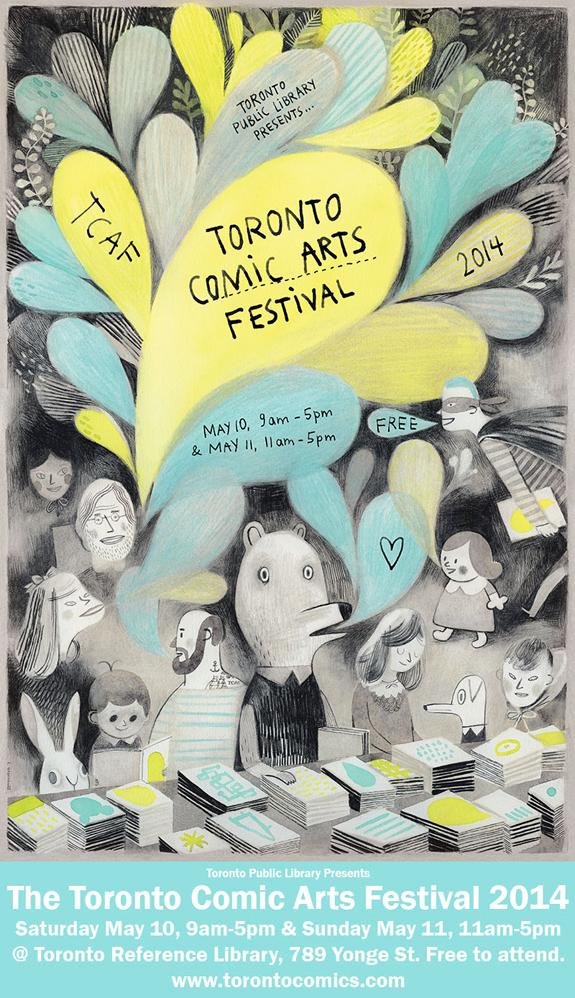 2014 Toronto Comic Arts Festival