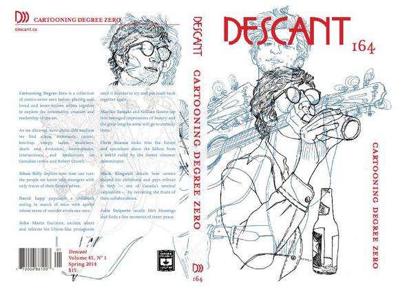 DESCANT 164 focuses exclusively on comics culture