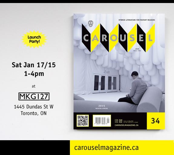 CAROUSEL 34 Toronto Launch