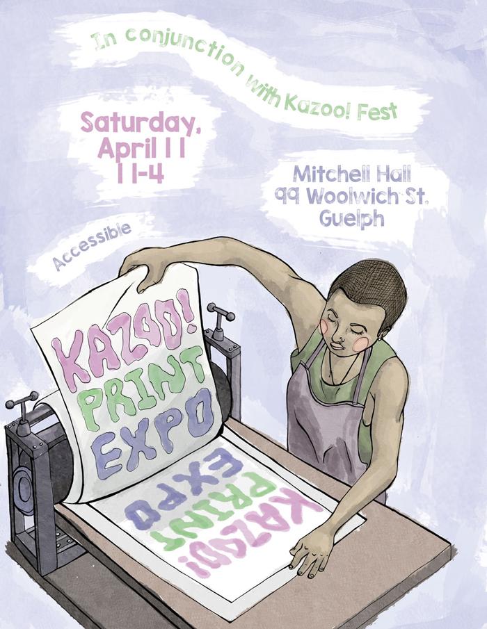 2015 KAZOO Print Expo (Guelph, ON)
